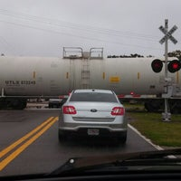 Photo taken at Railroad Crossing on 14th Avenue by Jay M. on 2/23/2013