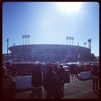 Photo taken at Candlestick Park by Stephen D. on 12/30/2012