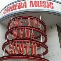 Photo taken at Amoeba Music by Scott Y. on 5/9/2013