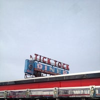 Photo taken at Tick Tock Diner by Matt V. on 3/17/2013