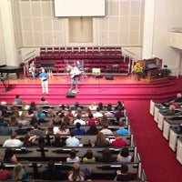 Photo taken at First Baptist Church of Tallahassee by Jeff L. on 10/21/2012