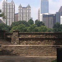 Photo taken at Piedmont Park Active Oval by Chris S. on 7/24/2013