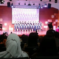 Photo taken at Jakarta International Korean School by Amelita N. on 10/4/2012