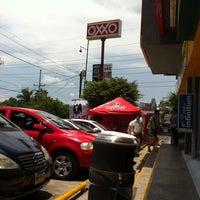 Photo taken at Oxxo Burgos by Alex L. on 7/27/2013