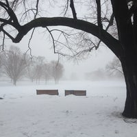 Photo taken at Major's Hill Park by Lindsay M. on 1/13/2013