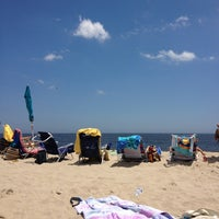 Photo taken at Long Branch Beach by Justin C. on 7/5/2013