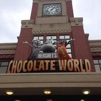 Photo taken at Hershey's Chocolate World by Adia J. on 7/28/2013