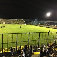 Photo taken at Estadio Don León Kolbowski - Club Atlético Atlanta by Juan A. R. on 11/17/2016