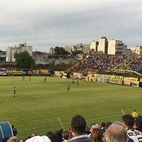 Photo taken at Estadio Don León Kolbowski - Club Atlético Atlanta by Juan A. R. on 10/22/2016