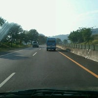 Photo taken at Cikampek-Cipularang Tol by Riesty Anggini S. on 10/7/2012