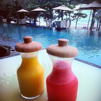 Photo taken at Anantara Seminyak Bali Resort & Spa by BurhanAbe on 5/23/2013
