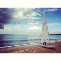 Photo taken at Nai Yang Beach by Natali B. on 1/22/2013