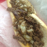 Photo taken at Jim's Steaks by Philly P. on 5/22/2015