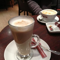 Photo taken at Costa Coffee by Hend K. on 1/7/2013