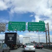 Photo taken at Bruckner Expressway by Ray C. on 3/22/2013