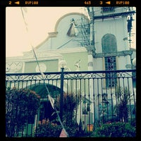 Photo taken at National Shrine of the Divine Mercy by Lian B. on 1/13/2013