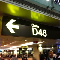 Photo taken at Gate D46 by Wut K. on 11/7/2012