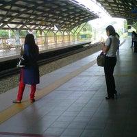 Photo taken at KTM Line - Kepong Sentral Station (KA07) by Zaimy Azwa A. on 10/16/2012