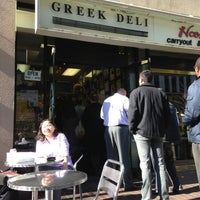 Photo taken at Greek Deli & Catering by Kurtis S. on 1/29/2013