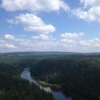 Photo taken at Усьвинские столбы by egor g. on 7/27/2013