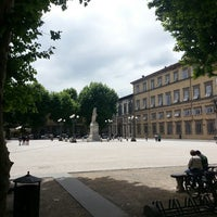 Photo taken at Piazza Napoleone by Hannes S. on 5/28/2013