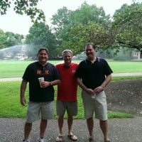 Photo taken at Vanderbilt University Alumni Lawn by Chris W. on 8/2/2014