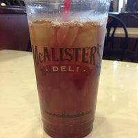 Photo taken at McAlister's Deli by Jane M. on 6/21/2013
