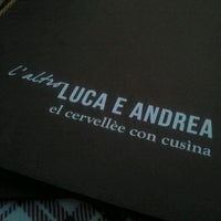 Photo taken at Luca & Andrea by Sascha S. on 5/31/2013
