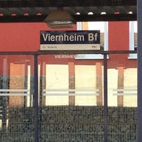 Photo taken at H Viernheim Bahnhof by Jens G. on 3/6/2013