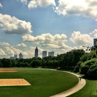 Photo taken at Piedmont Park by Cristian on 6/20/2013