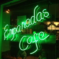 Photo taken at Empanadas Cafe by Christopher S. on 10/27/2012