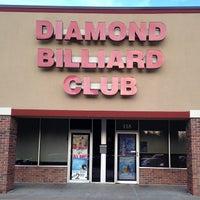 Photo taken at Diamonds Billiard Club by Rich H. on 5/31/2014