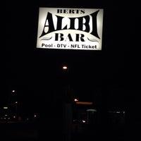 Photo taken at Bert's Alibi by Rich H. on 12/30/2013