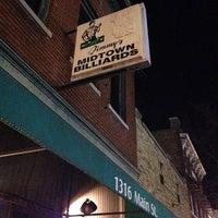 Photo taken at Midtown Billiards by Rich H. on 1/29/2014