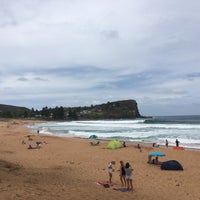 Photo taken at Avalon Beach by Anthony P. on 1/2/2016