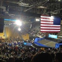Photo taken at Coors Events Center by Neal R. on 11/1/2012