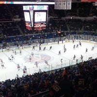 Photo taken at Nassau Veterans Memorial Coliseum by Eddie W. on 4/13/2013