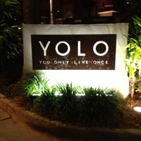 Photo taken at YOLO by Camille P. on 9/30/2012