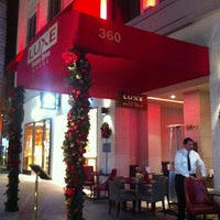 Photo taken at Luxe Hotel Rodeo Drive by Rick M. on 12/26/2012