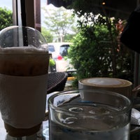 Photo taken at Coffee Me by Sujitporn Coffee & Bakery House by Nooch G. on 11/16/2015