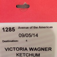 Photo taken at Ketchum Global Headquarters by Victoria W. on 9/5/2014