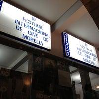 Photo taken at 10mo Festival Internacional de Cine de Morelia by Mormodes L. on 11/4/2012