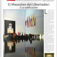 Photo taken at Mausoleo del Libertador Simón Bolívar by Melissa A. on 7/28/2013