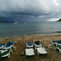 Photo taken at Sunj Lopud Beach by Kristóf K. on 9/19/2016