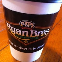 Photo taken at Ryan Bros. Coffee by Becky C. on 5/22/2013