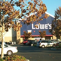 Photo taken at Lowe's Home Improvement by S I. on 11/8/2013