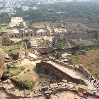 Photo taken at Golconda Fort by Rachel B. on 11/24/2012