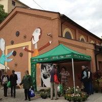 Photo taken at Mercato della Terra by Roberta F. on 4/27/2013