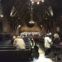 Photo taken at Sage Chapel by Elise H. on 4/13/2013