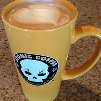 Photo taken at Atomic Coffee by FSU N. on 2/25/2013